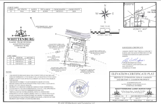 FEMA Elevation | Certificate Whittenburg